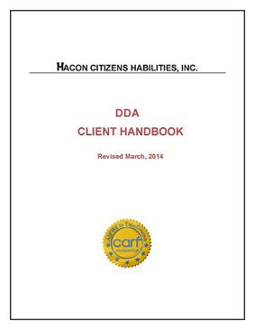 DDA Residential Consumer Handbook