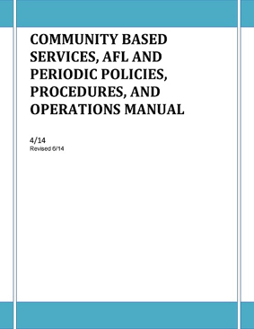Pages from Community Based Services - AFL and Periodic
